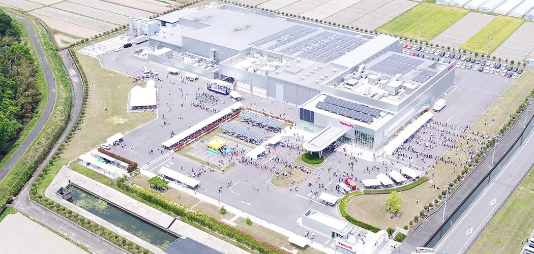 岡山和気ヤクルト工場